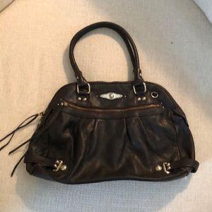 Elliott Lucca leather satchel